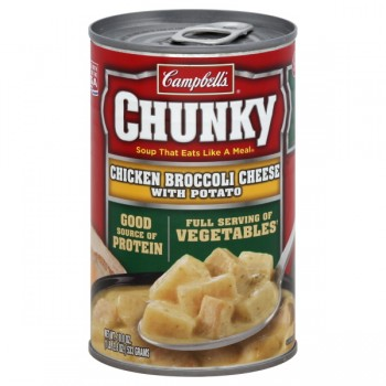 Campbell's Chunky Soup Chicken with Broccoli, Cheese & Potatoes