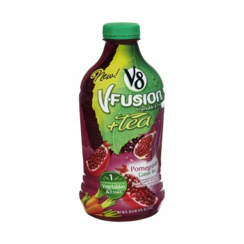 V8 V-Fusion + Tea Pomegranate Green Tea