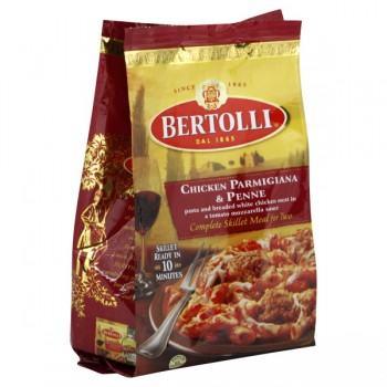Bertolli Complete Skillet Meal for Two Chicken Parmigiana & Penne