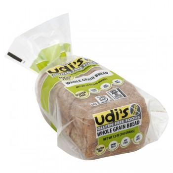 Udi's Gluten Free Foods Bread Whole Grain Frozen