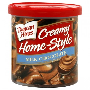 Duncan Hines Creamy Home-Style Frosting Milk Chocolate