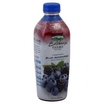 Bolthouse Farms Blue Goodness 100% Juice Fruit Smoothie All Natural