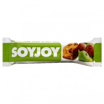 SOYJOY All Natural Fruit & Soy Snack Bar Apple