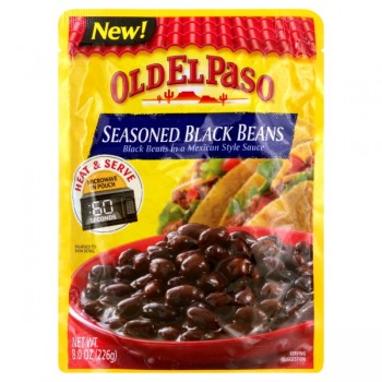 Old El Paso Beans Black Seasoned in a Mexican Style Sauce