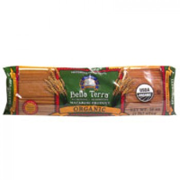 Bella Terra Pasta Spaghetti 100% Whole Wheat All Natural Organic