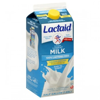 Lactaid 100% Lactose Free Milk Low Fat 1% Calcium Fortified