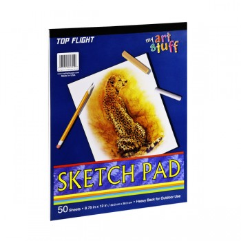 Top Flight Sketch Pad 8.75 X 12 Inch