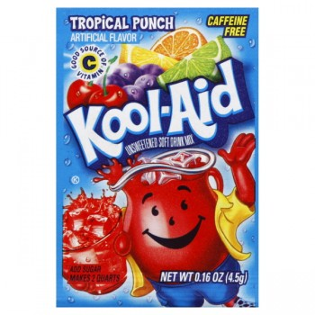 Kool-Aid Tropical Punch Drink Mix Unsweetened - Makes 2 Quarts