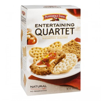 Pepperidge Farm Entertaining Collection Cracker Quartet