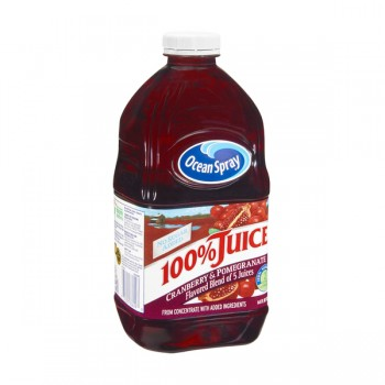 Ocean Spray Premium 100% Cranberry & Pomegranate Juice No Sugar Added