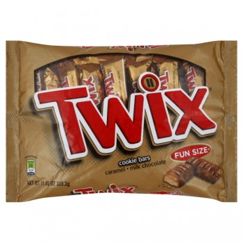 Twix Caramel Cookie Bars Fun Size