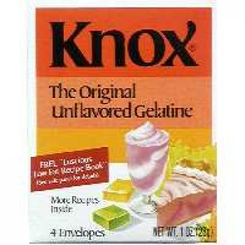 Knox Gelatin Unflavored - 4 ct