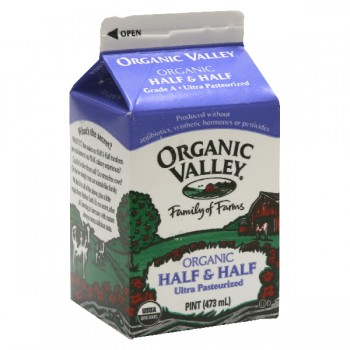 Organic Valley Half & Half Ultra Pasteurized