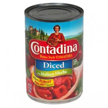 Contadina Recipe Ready Tomatoes Diced Italian Herb