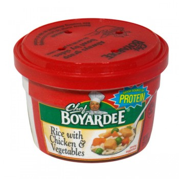 Chef Boyardee Microwave Rice with Chicken & Vegetables