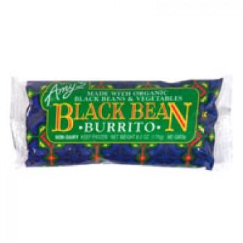 Amy's Burrito Black Beans & Veggie Organic