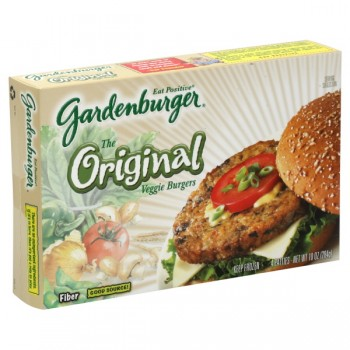 Gardenburger Veggie Burgers Original - 4 ct Frozen
