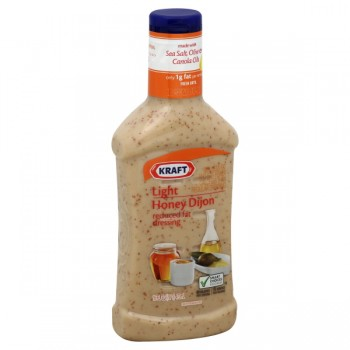 Kraft Salad Dressing Honey Dijon Light