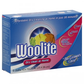 Woolite Dry Cleaner's Secret Dry Cleaning Sheets