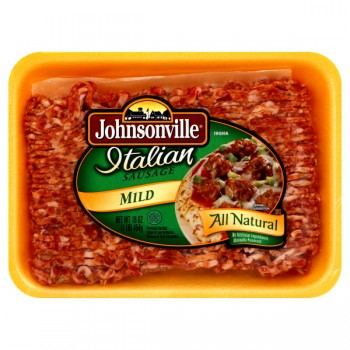 Johnsonville Sausage Pork Ground Italian Mild All Natural