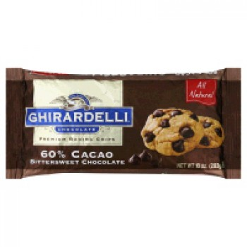 Ghirardelli Chocolate Chips Bittersweet Chocolate 60% Cocoa