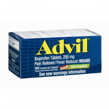 Advil Ibuprofen 200 mg Gel Caplets