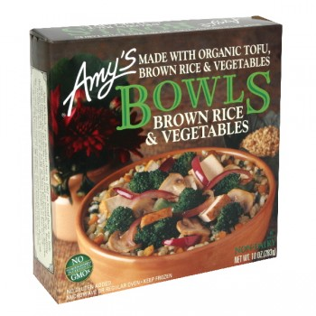 Amy's Bowls Brown Rice & Vegetables Organic