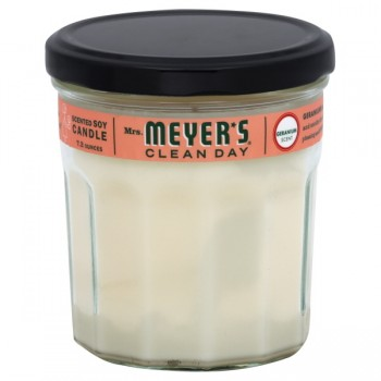 Mrs Meyer's Clean Day Soy Candle Geranium