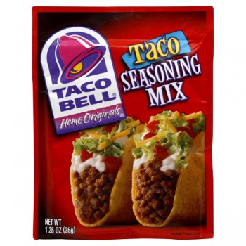Taco Bell Seasoning Mix Taco