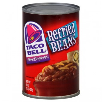 Taco Bell Refried Beans Vegetarian Blend