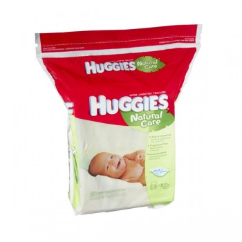 Huggies Natural Care Baby Wipes Fragrance Free Refill