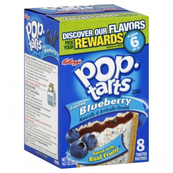 Kellogg's Pop-Tarts Frosted Blueberry - 8 ct