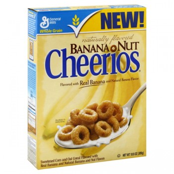 General Mills Cheerios Cereal Banana Nut