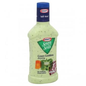 Kraft Seven Seas Salad Dressing Green Goddess