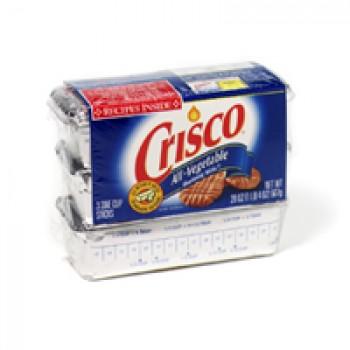 Crisco All-Vegetable Shortening Sticks - 3 ct