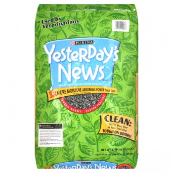 Yesterday's News Cat Litter Softer Texture Fresh Scent