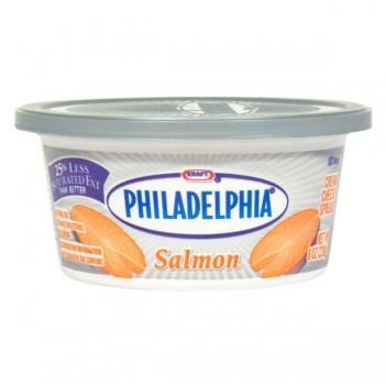 Kraft Philadelphia Cream Cheese Spread Salmon