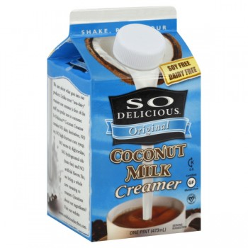 So Delicious Coconut Milk Creamer Original