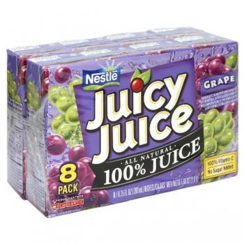 Nestle Juicy Juice 100% Grape Juice - 8 pk