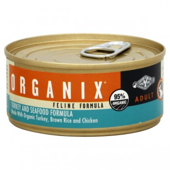 Castor & Pollux Organix Wet Cat Food Turkey & Seafood