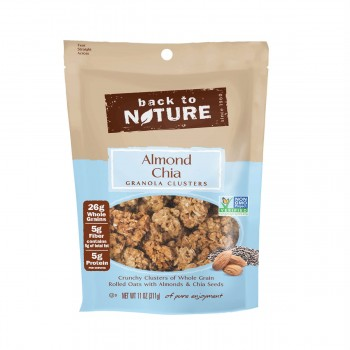 Back To Nature Granola Almond Chia Clusters