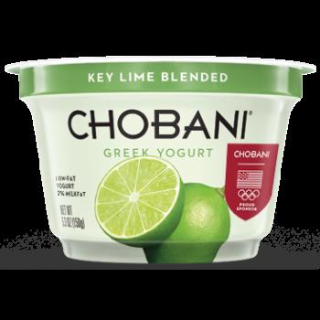 Chobani Greek Yogurt Key Lime 2% All Natural