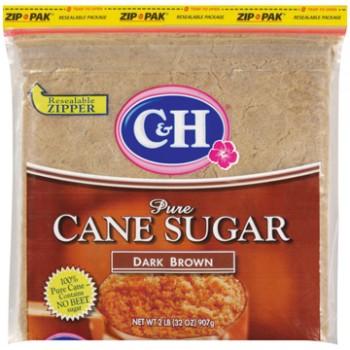 C&H Sugar Dark Brown - 2lb