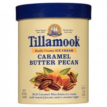 Tillamook Ice Cream Caramel Butter Pecan