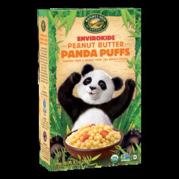 Nature's Path EnviroKidz Cereal Panda Puffs Peanut Butter Organic