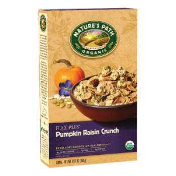 Nature's Path Cereal Flax Plus® Pumpkin Raisin Crunch Organic