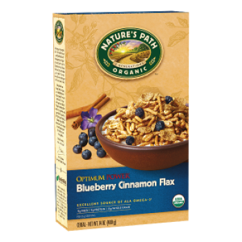 Nature's Path Cereal Optimum Power® Blueberry Cinnamon Flax Organic