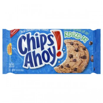 Nabisco Chips Ahoy! Cookies Chocolate Chip Reduced Fat