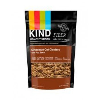 KIND Heathy Grains Cinnamon Oat Clusters with Flax Seeds