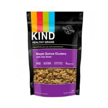 KIND Heatlhy Grains Maple Quinoa Clusters with Chia Seeds